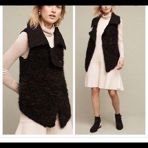 Sleeping on Snow Fur Anthropologie Vest